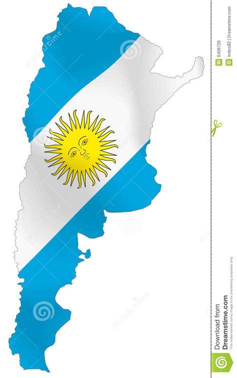 Argentina Flag Outline by Argentina Flag Stock Vector Illustration Of Border Buenos 6406726