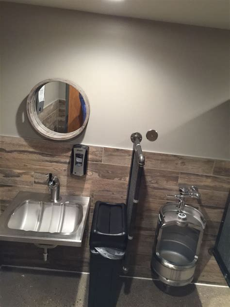 what are bathroom sinks made of bathroom fixtures made out of kegs and taps small