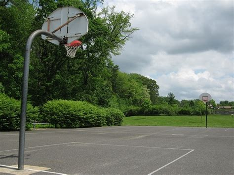 how to make a basketball court in your backyard how to build a backyard basketball court healthfully