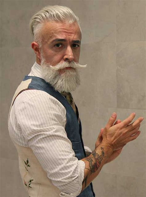 white beard styles for older men popular beard styles older guy with white hair gems pinterest white hair