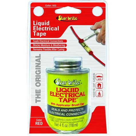 Canadian Tire Kitchen Faucets Star Brite 4 Oz Liquid Electrical Tape Red 084105n