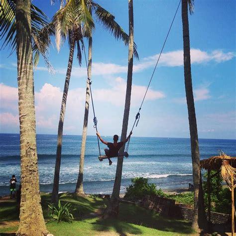 swing travel grown up swing travel indonesia bali swing sea sun