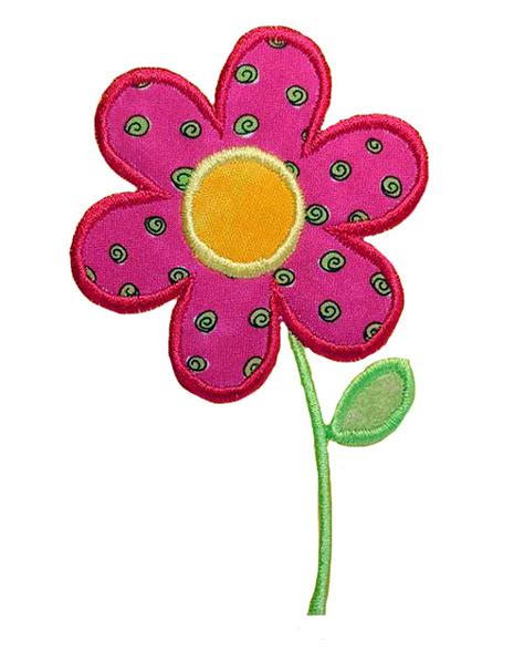 flower applique items similar to flower applique embroidery machine design