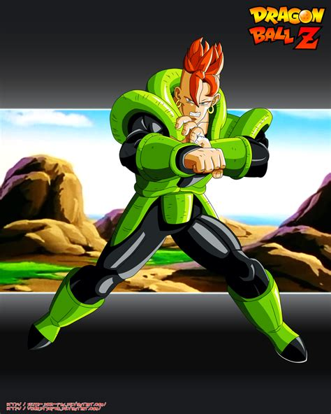 z android 16 goku y vegeta androides v2