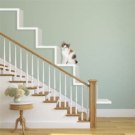 banister styles try these 8 cool ideas to build wall shelves for cats