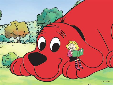 clifford the clifford the big clipart