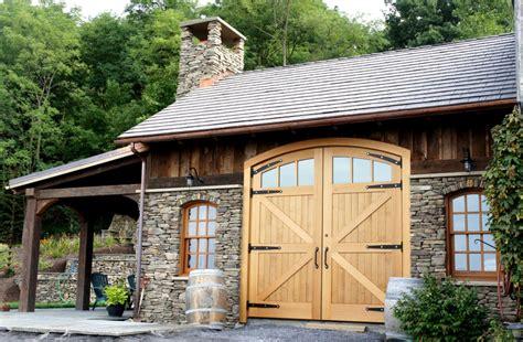 timber frame barn garage doors  energy works
