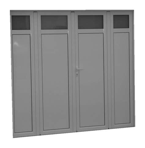 Porte De Garage Aluminium 4 Vantaux 4157 by Porte De Garage Aluminium Isol 233 4 Vantaux Standard H 2