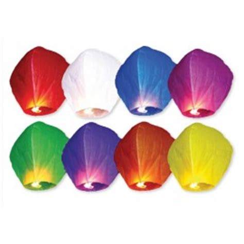 lanterne di carta volanti lanterne di carta festemix