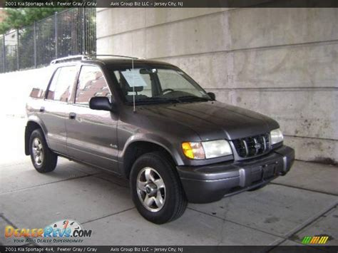 Which Kia Sportage Is 4x4 2001 Kia Sportage 4x4 Pewter Gray Gray Photo 6