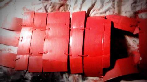 How To Make A Samurai Helmet Out Of Paper - home made samurai armor
