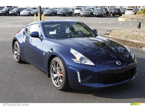 blue nissan 370z 2013 midnight blue nissan 370z sport touring coupe