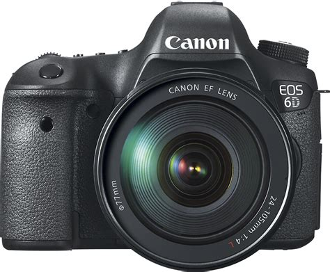 canon eos 6d best buy best buy canon eos 6d dslr with 24105mm f 4l is