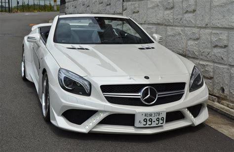 Mercedes Sl63 Amg by Tuningcars Vitt Mercedes Sl63 Amg
