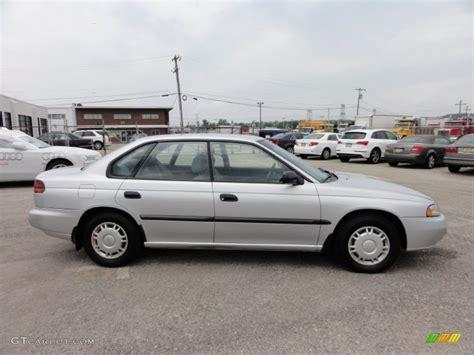 1995 subaru legacy silver metallic 1995 subaru legacy l sedan exterior