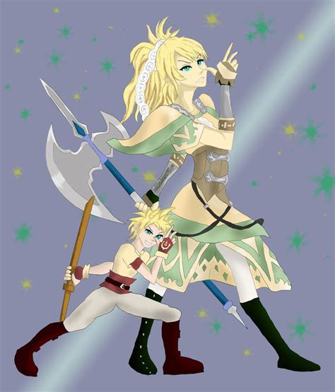 fe awakening lissa and owain by soulscore on deviantart