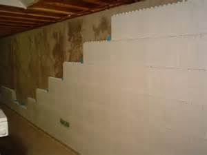 ideas for finishing concrete basement walls 25 best ideas about insulating basement walls on