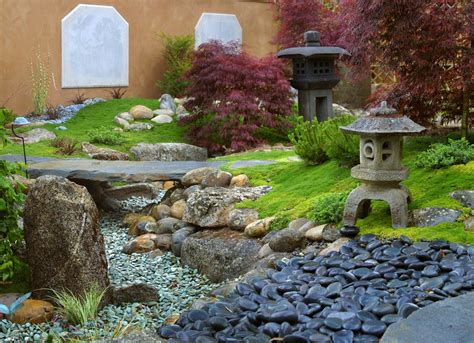 Asian Rock Garden 65 Philosophic Zen Garden Designs Digsdigs