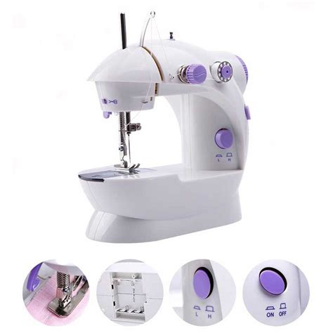 Special Mesin Jahit Mini Portable Sewing Machine portable 4 in 1 dual speed mini sewing machine mesin jahit