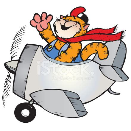 cat flying plane stock photos freeimages.com