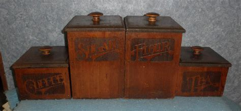canisters stunning vintage kitchen canister set ceramic