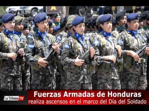 fuerzas armadas de honduras fuerzas armadas de honduras realiza ascensos en el marco