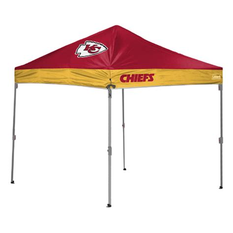 Kc Tent And Awning by Kansas City Chiefs Tailgate Canopy Tent Easy Up Shelter
