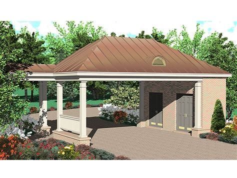 house plans with carport carport plans 2 car carport plan with storage space 006g 0048 at thegarageplanshop com