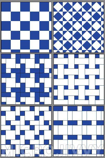White And Blue Tile by 1 144 Scale Floor Tiles Part 2 Blue And White Microjivvy