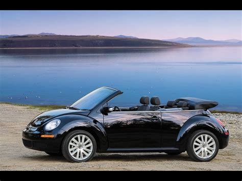 2008 Volkswagen Beetle Convertible by 2008 Volkswagen New Beetle Convertible Driver Side Angle