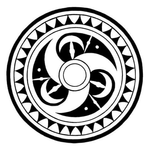 tribal circle tattoo tribal circle by melhadkei on deviantart