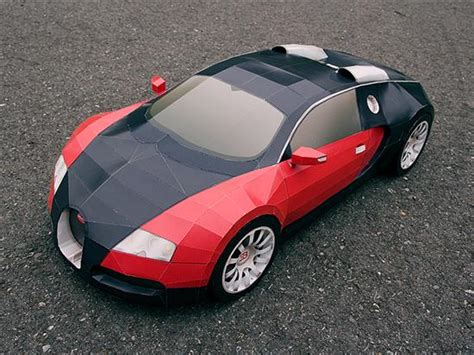 Bugatti Veyron Papercraft - bugatti veyron papercraft cars show