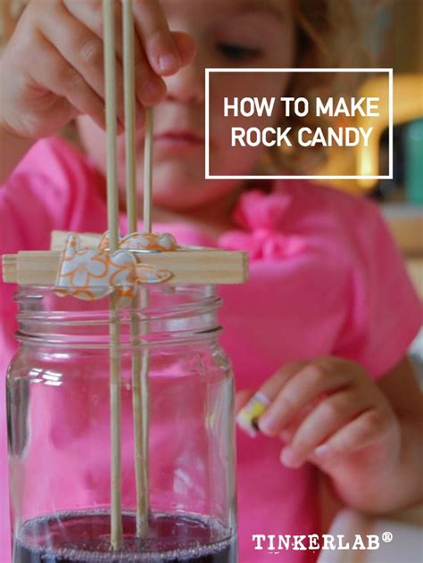 how to make rock candy on a stick tinkerlab