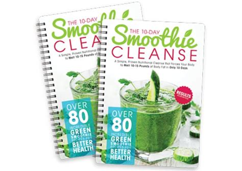 10 Day Smoothie Detox Book by The 10 Day Smoothie Cleanse Pdf Book Free