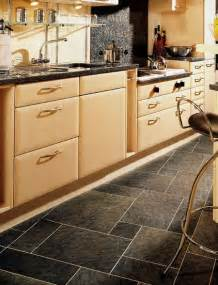 Vinyl Kitchen Flooring Ideas by Kitchens Flooring Idea Sn36 Slate Silver With