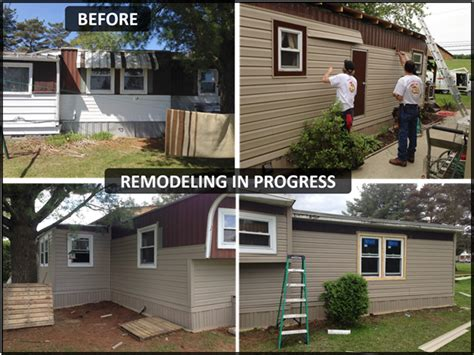 maintenance expert mobile home remodeling complete