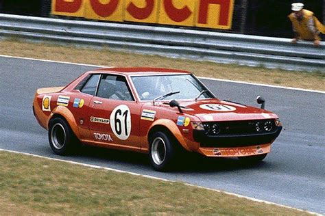 Gruppe H Auto Kaufen by Andersson Katullinsky Celica 1600gt 9th Overall In
