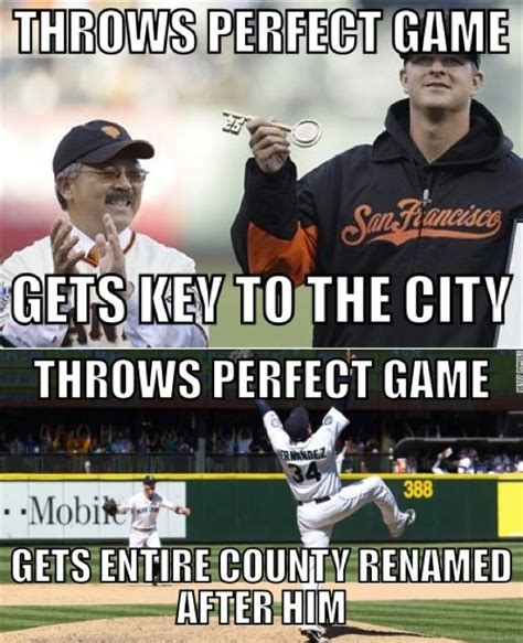 Baseball Meme - king felix ftw seattle mariners pinterest