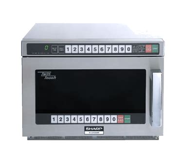 r cd1800m – sharp microwave oven – advance commercial