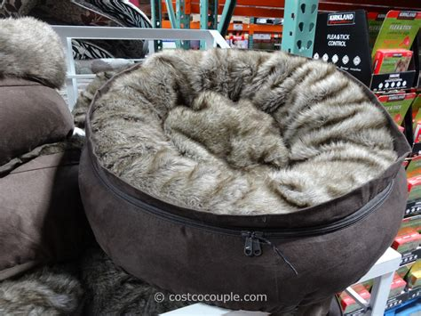 dog bed costco kirkland signature 24 inch snuggler pet bed
