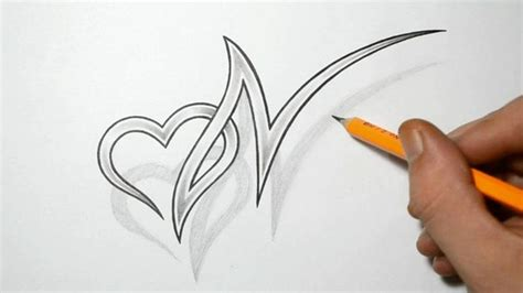 tattoos on the heart pdf letter n and combined design ideas for