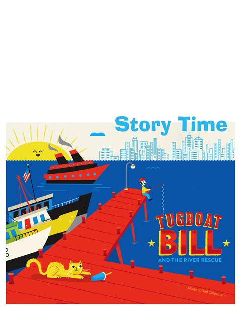 tugboat story tugboat bill and the river rescue stem story hour kit