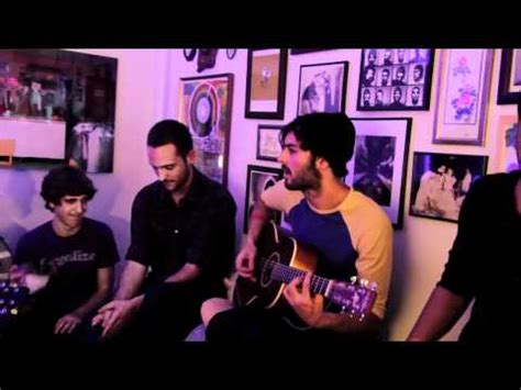 big ugly yellow couch young the giant i got live acoustic on big ugly yellow