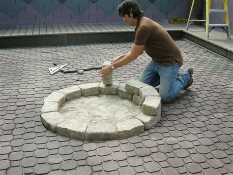 how to make a firepit how to make a backyard pit landscaping ideas and
