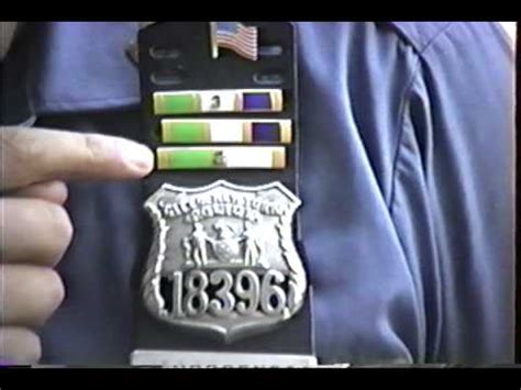 nypd 44th pct medals september 1989 youtube