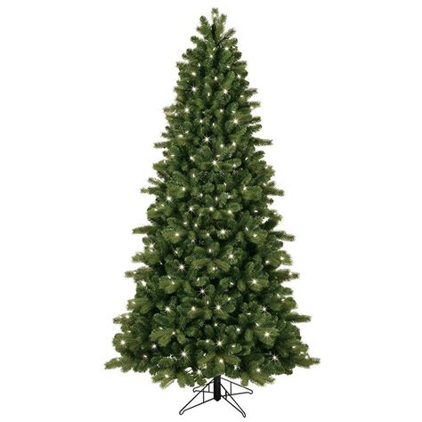 ge norway spruce 6 ft ge 01667hd 7 5 pre lit led energy smart cut colorado spruce artificial tree vip outlet