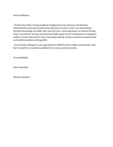 Cpp Appeal Letter Exle cover letter exles unemployed 28 images
