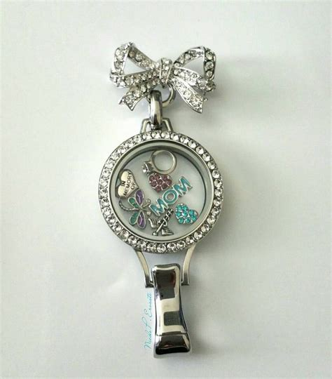 How Does Origami Owl Work - this origami owl lanyard with the bow quet pin for