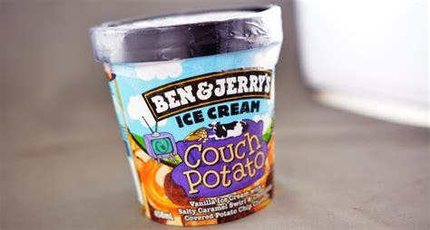 ben and jerry s couch potato usafoods on twitter quot ben jerry s couch potato just