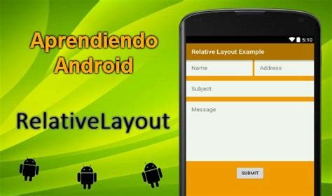 relativelayout android relativelayout aprendiendo android c 243 digo onclick